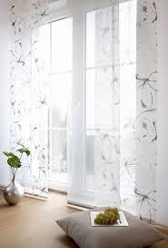 scheibengardinen wohnzimmer modern wohnzimmermöbel ideen