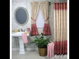 bathroom window curtain design ideas youtube