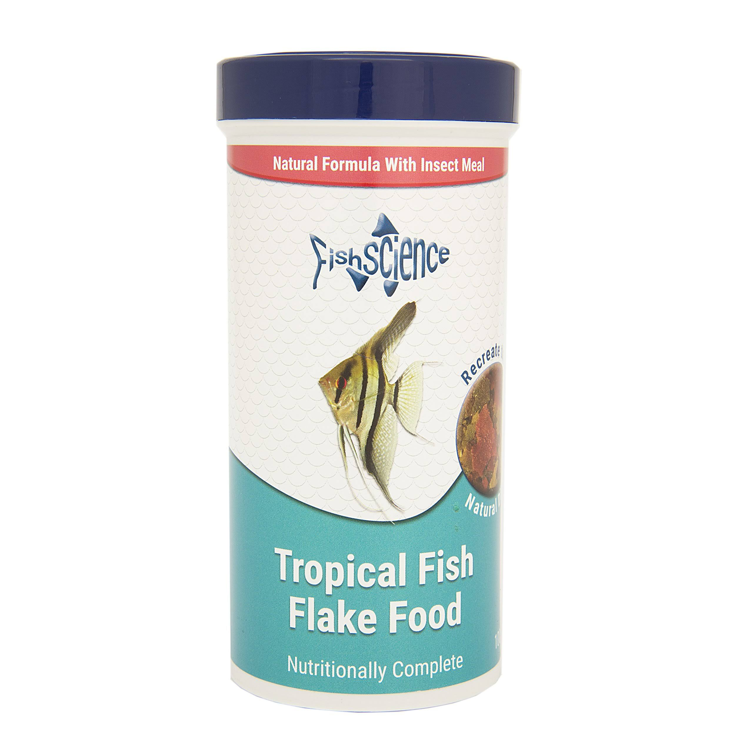 FishScience Tropical Fish Flake Food - 100g