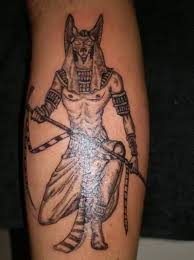 Outstanding Angry Egyptian God Tattoo Design
