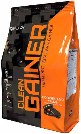 Rivalus Clean Gainer - 12lbs Cookies & Creme