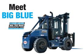 100 Industrial Lift Truck Meet Big Blue The Newest Addition To Our Power Rental Fleet The