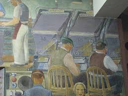 Coit Tower Murals Prints by Dispatches From Sf Coit Tower Murals U0026 Artillery Gallery