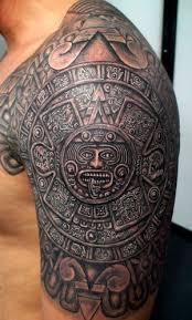 Maya And Aztec Tattoos