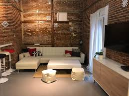 100 Brick Loft Apartments Apartment Red Brick Loft For 8 Madrid Spain Bookingcom