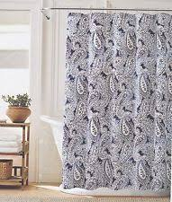 tommy hilfiger paisley shower curtains ebay