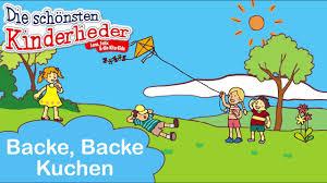 backe backe kuchen kinderlied mit text zum mitsingen