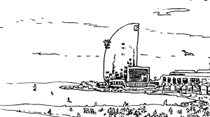 100 W Hotel In Barcelona Spain Sketching The City Drawing Sketching