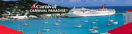 18 carnival paradise cruise ship sinking news carnival
