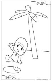 Pocoyó Dibujos Para Pintar Para Niños Gratis