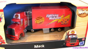 100 Cars 2 Mack Truck Wood Hauler Wooden Collection ToysRus TRU