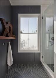 grey herringbone tiles bathrooms bathroom ideas