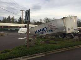 Amtrak Train Hits Vancouver-bound Semi In Oregon | The Columbian Train Carrying Cgressional Republicans To Gop Treat Hits Report Shows Truck Hit By Train Was On The Tracks After Warning Teens Truck Hit In Purdy Crashes Into Norcross Driver Cited News Fedex Utah Youtube Vancouver Man Dies His Is Cn Rail Delta Torn Apart Two Trains At Rail Crossing Kazakhstan Pickup Struck Brightline Lake Worth Collides With Ctortrailer Sugarcane And Derails Semi Gets Stuck 2 Dead Least 20 Injured When Road