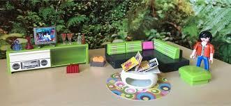 playmobil wohnzimmer city luxusvilla 5584 zustand