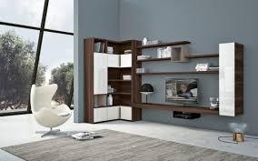 Modern Wall Unit In Living Room Regarding