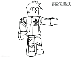 Great Coloring Pages Free Roblox
