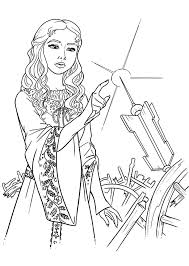 Maleficent 11 Coloring Pages Of