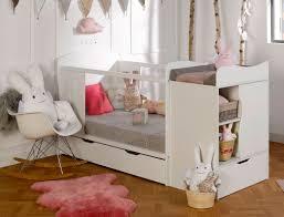chambre évolutive bébé chambre bébé évolutive belem blanc avec tiroir et matelas chambrekids