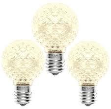 g40 c9 led warm white bulbs minleon brand commercial