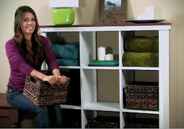 ana white cubby bookshelf large diy projects