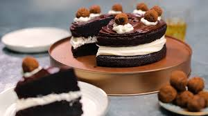 Tastemade Chocolate Whiskey Cake With Whiskey Truffles Recipe