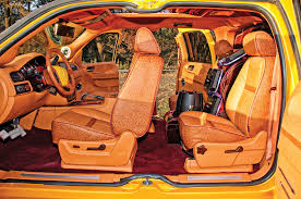 2007 Chevrolet Avalanche Japanese Gold Lowrider