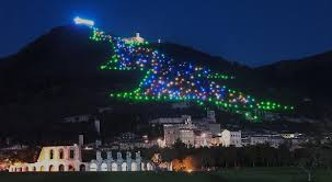 Gubbio Christmas Tree The Biggest In World