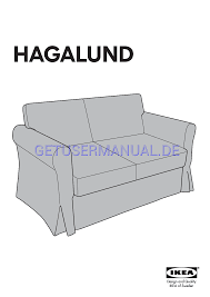 Hagalund Sofa Bed Cover Ikea by Ikea Stühle Hagalund Sofa Bed Cover Montageanleitung Zum