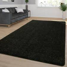 möbel wohnen waschbarer wohnzimmer hochflor teppich shaggy