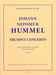 johann nepomuk hummel trumpet concerto