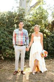 Lovely Country Western Wedding Dresses And High Low Short Front Long Back