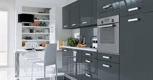 cuisine e cuisine equipee grise laquee 12 de 2m60 tara lzzy co newsindo co