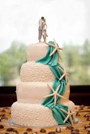 Tropical Wedding Cake Toppers Luxury Barefoot Couple Beach Topper