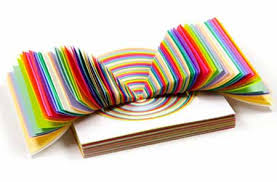 Book Shaped Paper Craft And Wall Decoration Idea