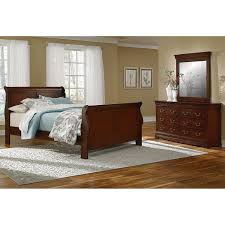 Neo Classic Piece King Bedroom Set Cherry Value City Furniture