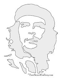 Pumpkin Stencil Maker by Che Guevara Stencil Free Stencil Gallery