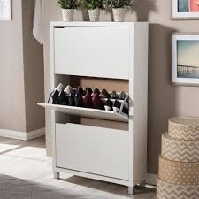 Home Depot Cabinets White by Shoe Cabinet White Wood Shoe Storage Closet Storage