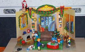 maison du pere noel playmobil déco de noël avec les playmobils