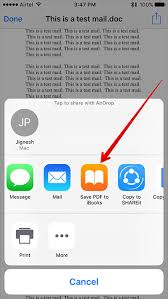 How to Save Mail Attachment to iBooks on iPhone or iPad