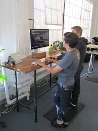 Multiple Monitor Standing Desk by Dual Monitor Standing Desk Dual Monitor Adjustable Standing Desk