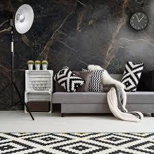 wandverkleidung für das wohnzimmer mit marmor v2 motiv