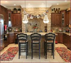 Vanity Rustic Country Kitchen Decorating Ideas Home Design At