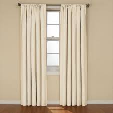 Eclipse Blackout Curtains 95 Inch by Eclipse Kendall Blackout Ivory Curtain Panel 84 In Length