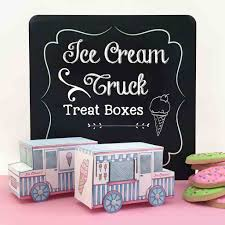 Ice Cream Truck Treat Box - BugabooCity Just Chill N Ice Cream Truck Orange County Food Trucks Roaming Make Your Kids Party More Enjoyable By Jessicabeak Davey Bzz Shaved And Rentals New Jersey Nj Creamretro Diner Inspired Birthday Menu Anything Hann Made Georgia Ice Cream Truck Parties Events Coolhaus Skeels Grocery Store Greensboro North Decor Invite Invitation Diy Etsy Street Freeze Las Vegas Favor Box Cupcake Set Of 4 Invitations Jins Toronto Give Your Party A Tasty Turn With