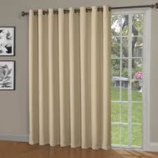 Brylane Home Grommet Curtains by Kitchen Window Drapes Woven Woods Roman Shades Bamboo Patio Door
