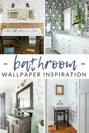 WOW-Worthy Bathroom Wallpaper Ideas - The Crazy Craft Lady Bathroom Wallpapers Inspiration Wallpaper Anthropologie Best Wallpaper Ideas 17 Beautiful Wall Coverings Modern Borders Model Design 1440x1920px For Wallpapersafari Download Small 41 Mariacenourapt 10 Tips Rocking Mounted Golden Glass Mirror Mount Fniture Small Bathroom Ideas For Grey Modern Pinterest 30 Gorgeous Wallpapered Bathrooms