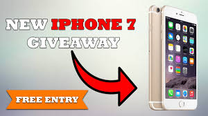 Free Iphone 7 plus Giveaway How to win a free Iphone 7 plus in