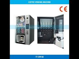 How To Maintance Commercial Coffee Vending Machine