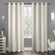 108 Inch Navy Blackout Curtains by Aurora Home Silver Grommet Top Thermal Insulated 108 Inch Blackout