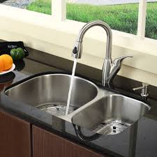 kitchen sink with 2 faucets 2 kitchen design